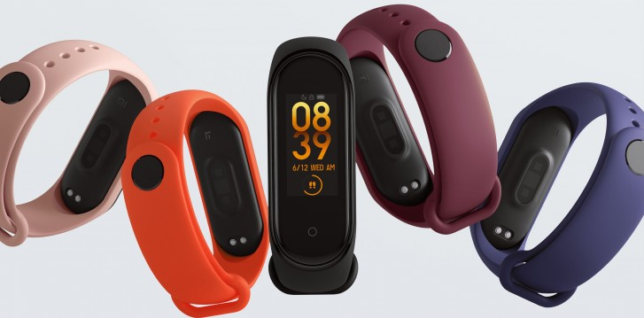 The current Xiaomi Mi Band 4