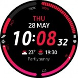 Some of the new watch faces and Informative Digital Edge