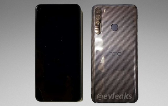 HTC Desire 20 Pro appears in hands-on image