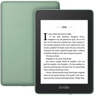 New colors for the Kindle Paperwhite: Sage