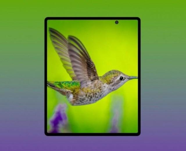 Samsung Galaxy Fold Lite render