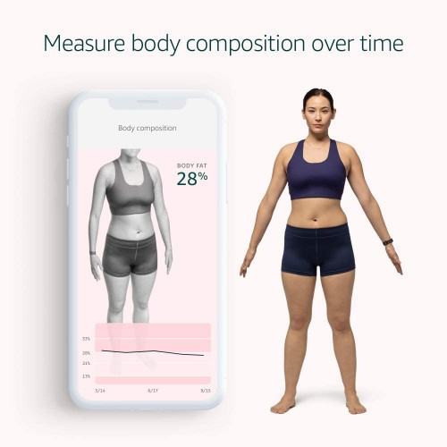 Amazon memperkenalkan Halo band dan layanan, yang dapat memindai tubuh Anda secara 3D, mendengarkan nada suara Anda