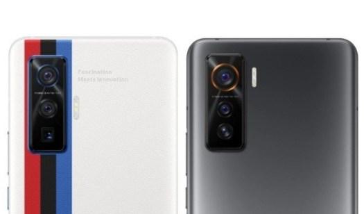 iQOO 5 Pro (left) and iQOO 5 (right) camera setups