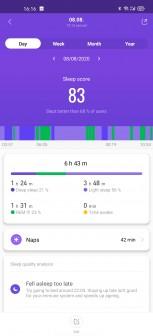 Xiaomi Mi Smart Band 5 screenshots
