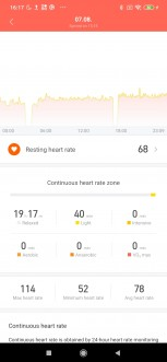 Xiaomi Mi Smart Band 4 screenshots