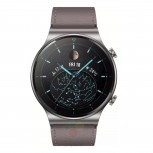 Huawei Watch GT2 Pro dengan tali kulit