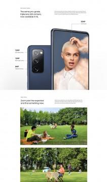 Samsung Galaxy S20 FE bilgi görseli