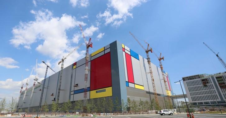 Pyeongtaek, Güney Kore'deki Samsung Semiconductor fabrikası