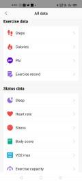 Amazfit's Android app needs a design overhaul