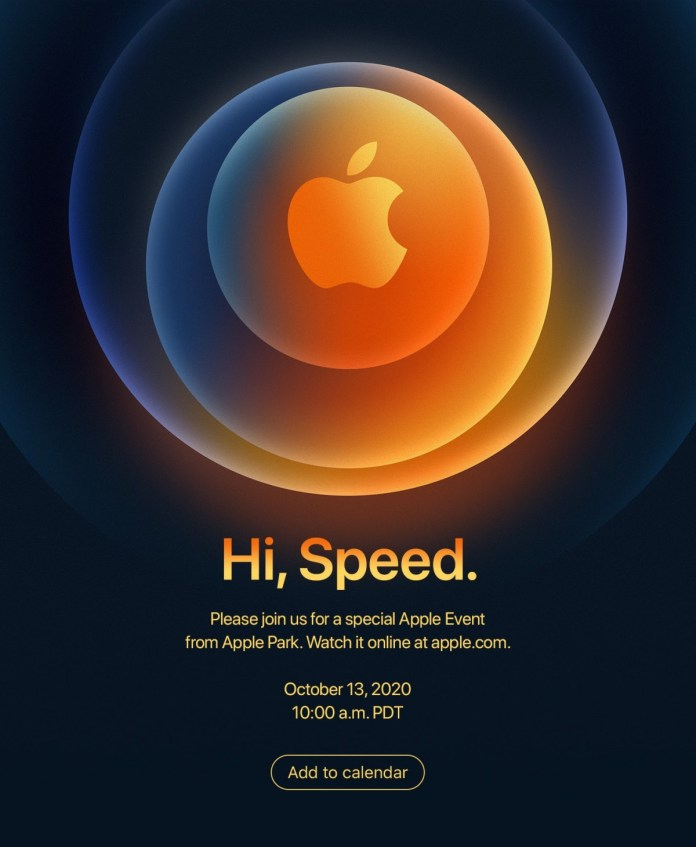 Apple to hold its next online event on October 13