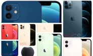 Images of all Apple iPhone 12 models leak, show all colors