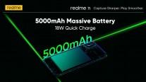 Realme 7i with 5,000 mAh battery