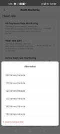 Heart rate monitoring on Amazfit Bip U