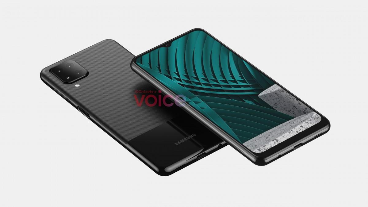 Leaked render of Samsung Galaxy M12