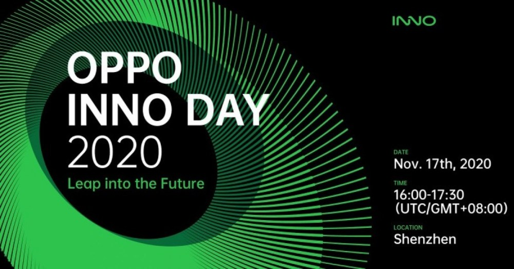 Oppo Inno Day 2020 scheduled for November 17