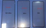 Samsung Galaxy S21 family's front panels leak, here's how they look side by side
