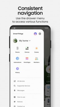 Samsung SmartThings app