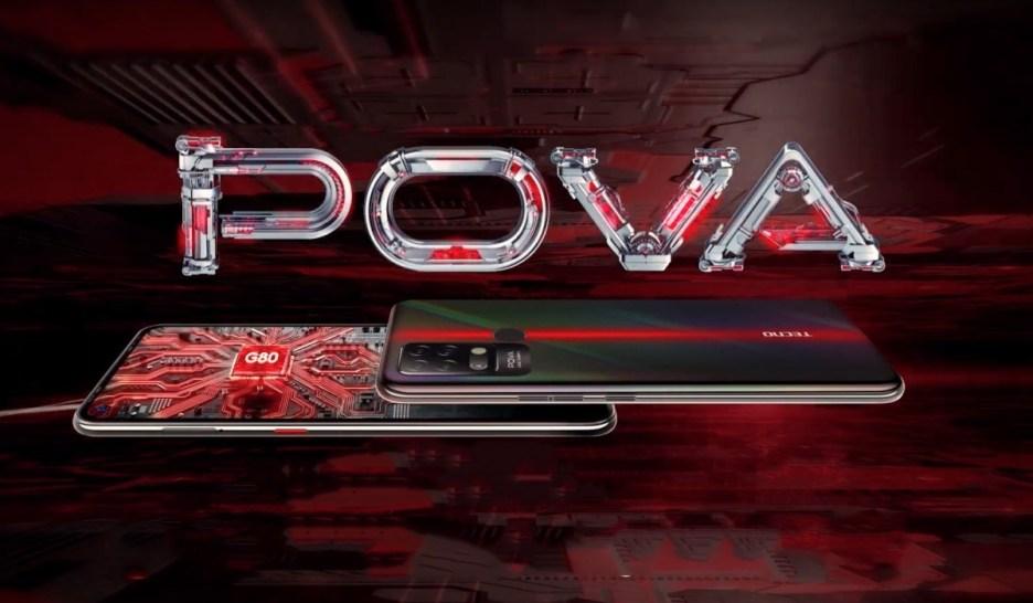 Tecno Pova comes to India with Helio G80 SoC, 16MP quad cameras and 6,000 mAh battery
