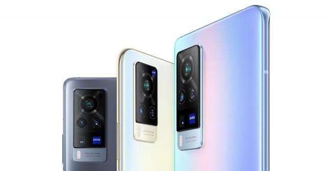 vivo X60 series' cameras with ZEISS Vario-Tessar lenses (click for a closer look)