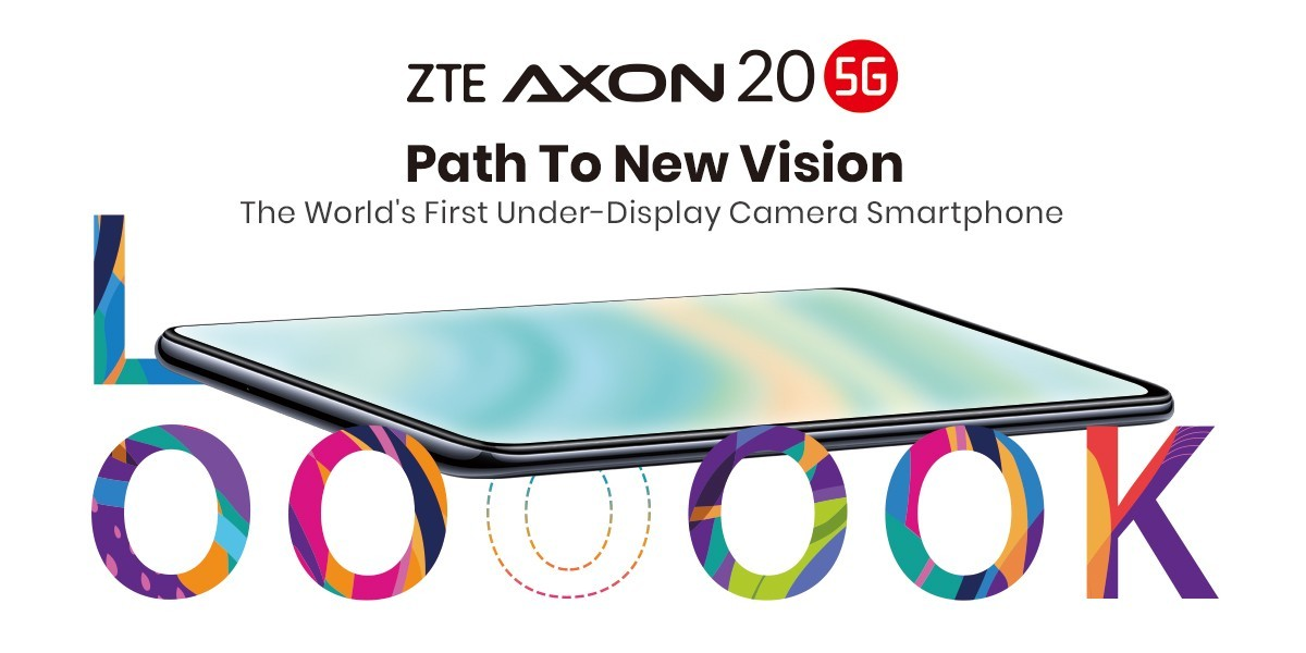 First phone with camera under display, the ZTE Axon 20 5G, now available globally