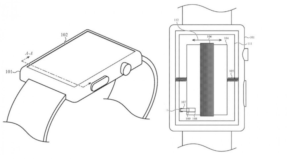 Apple might use the battery as a haptic engine in its future Watches