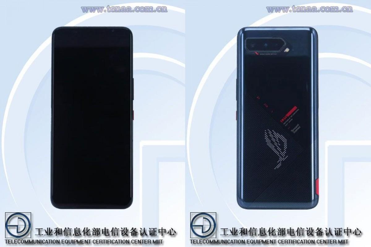 Asus ROG Phone 5 di TENAA