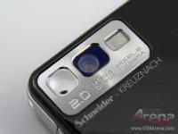 2 MP camera with Schneider-Kreuznach lens and LED flash