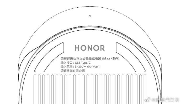 Pengisi daya nirkabel 50W untuk Honor V40 mendapatkan sertifikasi dari TUV Rheinland