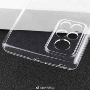 Leaked protective case of Honor V40