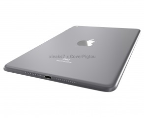 Bottom view of the iPad mini 6