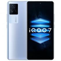 iQOO 7 in blue, black and white