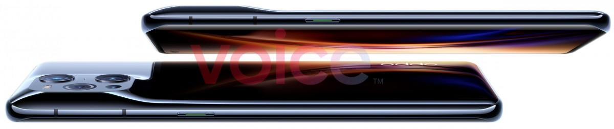 Oppo Find X3 Pro leaks in official-looking renders, showcasing unique camera hump