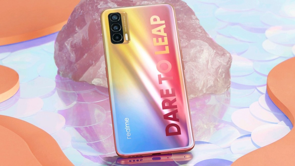 Image of Indian Realme X7 shared by Madhav Sheth