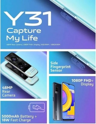 vivo Y31 specs and design revealed through leaked poster