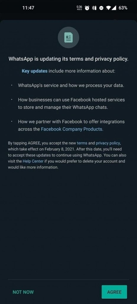 WhatsApp introduces new privacy policy, will share your data with Facebook