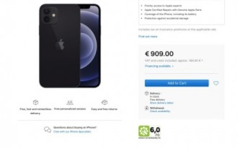 Apple adds reparability scores for iPhones and MacBooks sold in France