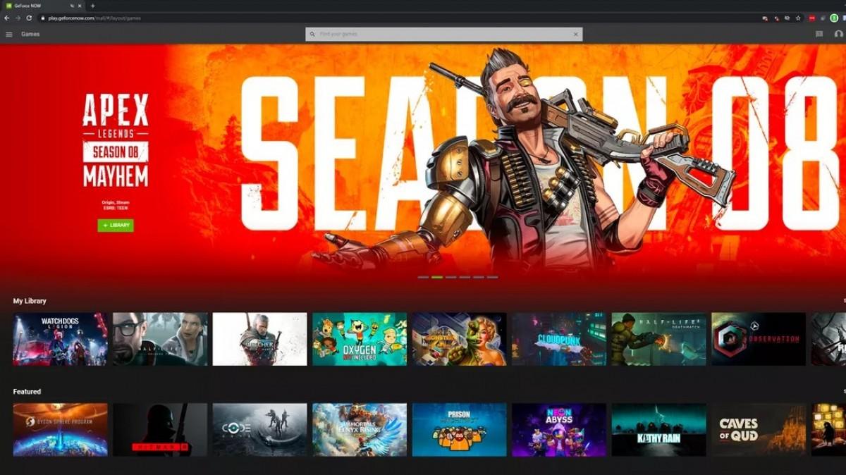 Layanan streaming game Nvidia GeForce Now mendarat di M1 Mac