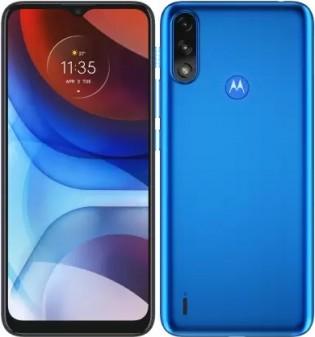 Motorola Moto E7 Power dalam warna Tahiti Blue