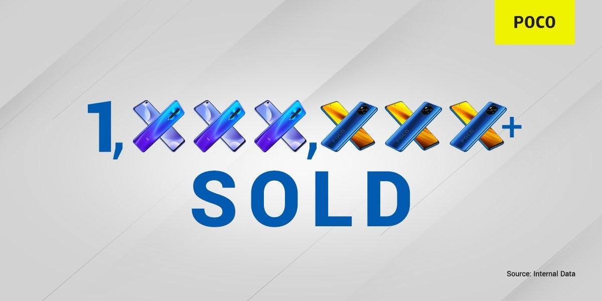 Poco mendiskon beberapa ponsel di Flipkart, mengumumkan seri X telah terjual lebih dari 1 juta unit