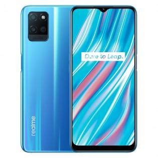 Realme V11 5G dalam warna Biru Muda