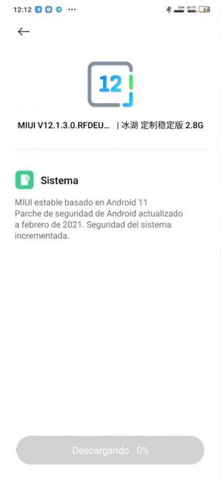 Catatan perubahan Xiaomi Mi Note 10 (kiri) dan Redmi Note 8 posting pembaruan (kanan)
