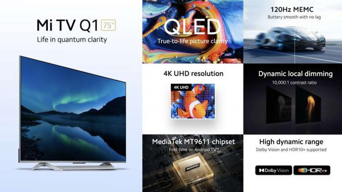 "Xiaomi Mi TV Q1 75 ""diumumkan"