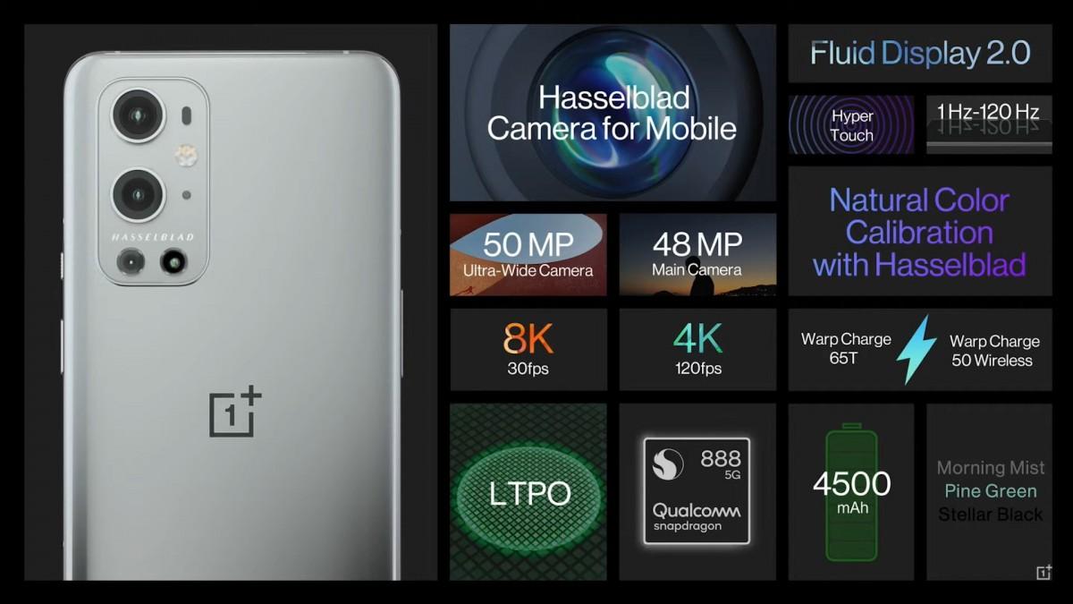 OnePlus 9 dan 9 Pro diluncurkan dengan kamera Hasselblad, layar 120Hz, pengisian daya yang ditingkatkan