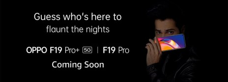 Oppo F19 Pro and F19 Pro+ teased ahead of launch in India