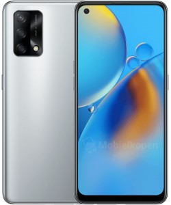 Oppo A74 5G in Space Silver