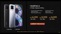 Realme 8 price in India