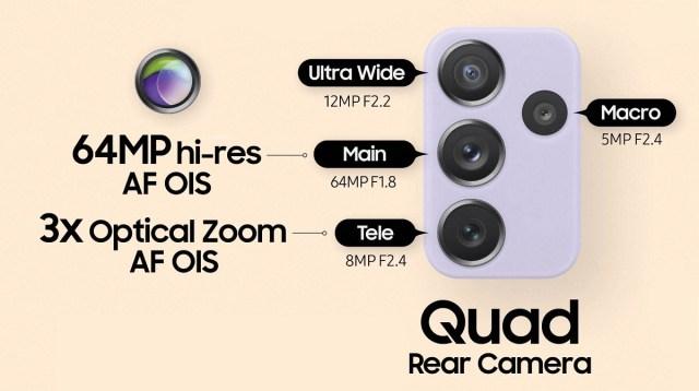 Samsung announces Galaxy A52, A52 5G and A72 with 90 Hz displays, 64 MP quad cameras