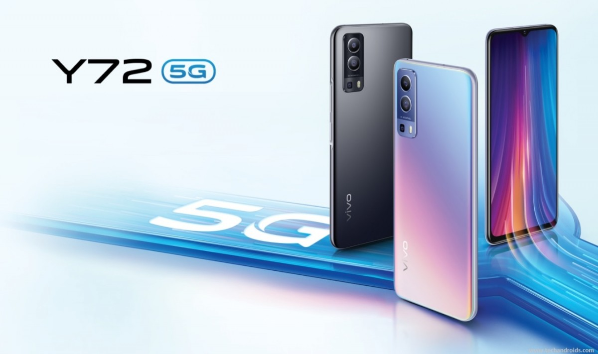 vivo Y72 5G diumumkan dengan Dimensity 700 5G dan baterai 5.000 mAh