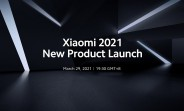 Xiaomi officially schedules a March 29 launch: Mi 11 Pro, Mi 11 Ultra, Mi 11 Lite expected