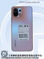 Xiaomi Mi 11 Lite 5G, photos by MIIT
